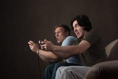 Ação dos jogos video Imagens de Stock
