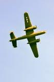 Ação no céu durante um airshow Foto de Stock