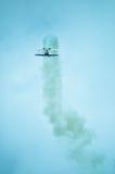 Ação no céu durante um airshow Fotos de Stock