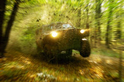 Ação Off-road Foto de Stock Royalty Free