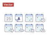 Ações para a gestão de tempo Fotos de Stock
