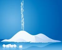 Açúcar ilustração do vetor