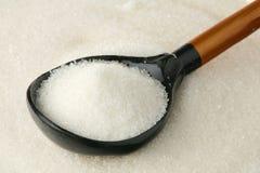 Açúcar branco Fotografia de Stock