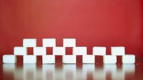 Açúcar branco vídeos de arquivo