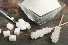 Açúcar branco Foto de Stock Royalty Free