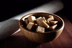Açúcar cobrido com sapê Foto de Stock Royalty Free