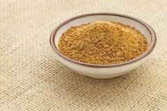 Açúcar da palma de coco foto de stock