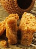 Açúcar da rocha do mel Imagem de Stock Royalty Free