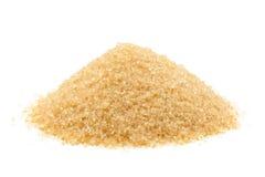 Açúcar de bastão cru de Brown Foto de Stock Royalty Free