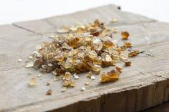 Açúcar de bastão de Brown Imagens de Stock Royalty Free