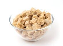 Açúcar de Brown Foto de Stock