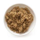 Açúcar de Brown Fotos de Stock