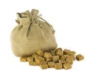 Açúcar de Brown Imagem de Stock Royalty Free