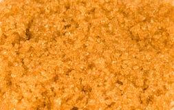 Açúcar de Brown Imagem de Stock