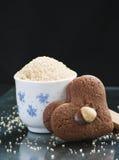 Açúcar de Brown e bolinhos Imagens de Stock Royalty Free