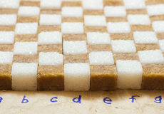 Açúcar de protuberância Fotos de Stock