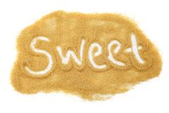 Açúcar doce Fotografia de Stock Royalty Free
