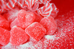 Açúcar e especiaria Fotografia de Stock
