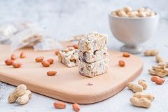 Açúcar friável do amendoim taiwanês do petisco fotos de stock royalty free