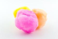 Açúcar girado, algodão doce Imagens de Stock Royalty Free