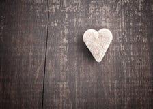 Açúcar Heart-shaped Imagem de Stock Royalty Free
