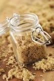 Açúcar mascavado Fotografia de Stock