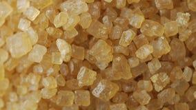 Açúcar mascavado do cana-de-açúcar, girando filme