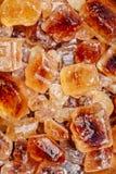 Açúcar mascavado dos doces Imagens de Stock Royalty Free