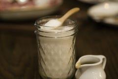 Açúcar no frasco Fotografia de Stock Royalty Free