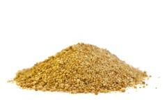 Açúcar orgânico da palma fotografia de stock