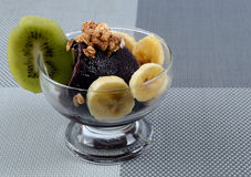 Açaí z owoc Fotografia Stock