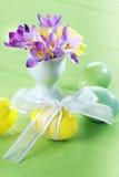Açafrões bonitos para Easter Imagem de Stock