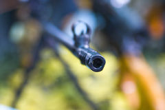 Açaime da metralhadora Fotografia de Stock