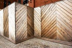 Açambarcamento de madeira Imagens de Stock Royalty Free