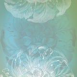 Aço azul Imagens de Stock Royalty Free