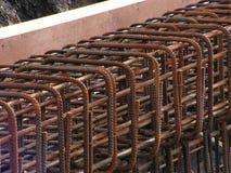 Aço da construção Fotografia de Stock