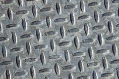 Aço da placa do diamante Imagem de Stock