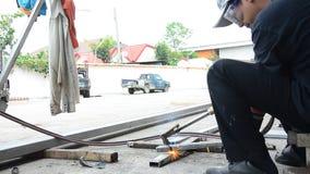 Aço da soldadura de gás filme