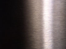 Aço dado polimento foto de stock