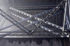 Aço e concreto Imagem de Stock