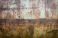 Aço e pintura oxidados velhos da corrosão imagens de stock royalty free