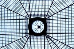Aço e vidro - interior Imagem de Stock