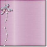 Aço escovado cor-de-rosa Fotografia de Stock Royalty Free
