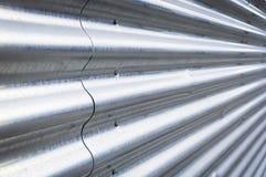 Aço ondulado Imagens de Stock