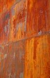 Aço oxidado Imagens de Stock
