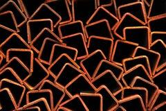 Aço oxidado Foto de Stock