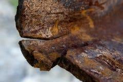 Aço quebrado Imagem de Stock Royalty Free