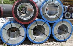 Aço rolado Fotos de Stock