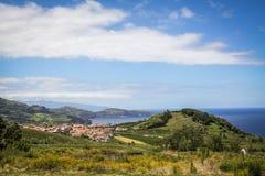Açores island the green island. Açores island the green island in the atlantic ocean Royalty Free Stock Photography