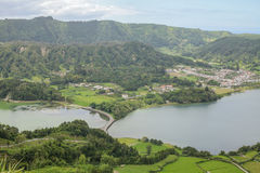 Açores island the green island Stock Images